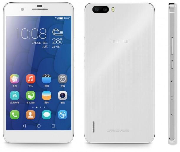 Huawei lanza en Pekín su último smartphone: el Honor 6 Plus