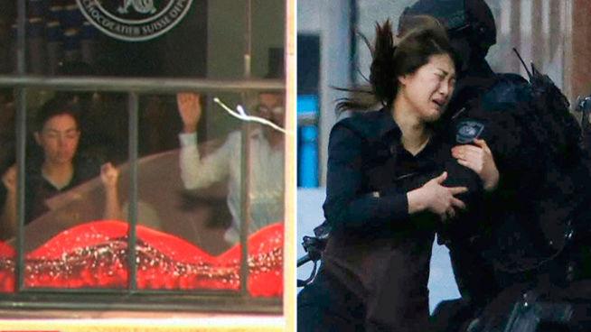 Un hombre armado toma decenas de rehenes en cafetería de Sídney