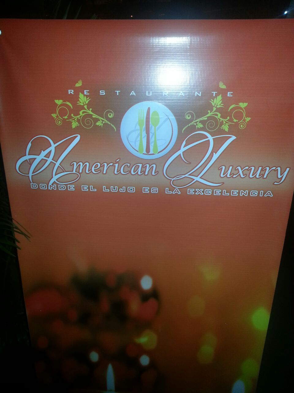 Inauguran restaurante de comida americana, American Luxury Restaurant