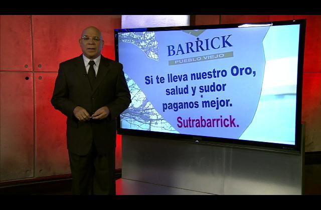 Marino Zapete: La Barrick Gold y el Pacto  Colectivo