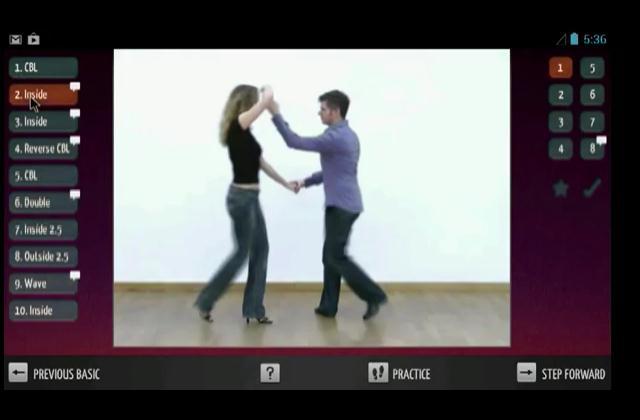 Conoce una app con la que aprenderás a bailar salsa