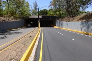 Obras Públicas cerrará hoy el túnel de la avenida Núñez de Cáceres