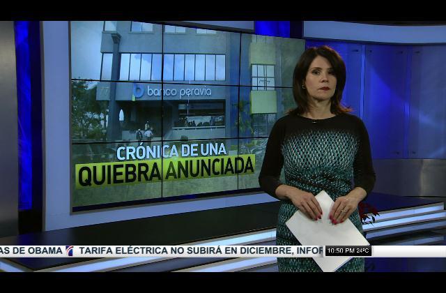 Banco Peravia: Crónica de una quiebra anunciada