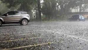 Lluvia con granizo pone en alerta a Sao Paulo