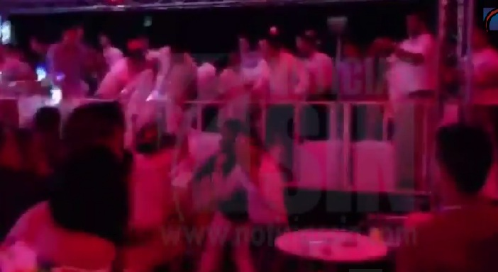 Video: Riña en centro de diversión deja varios heridos