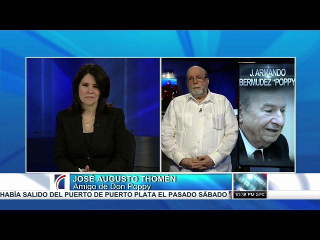 Presidente de Televisa resalta legado de Don Poppy