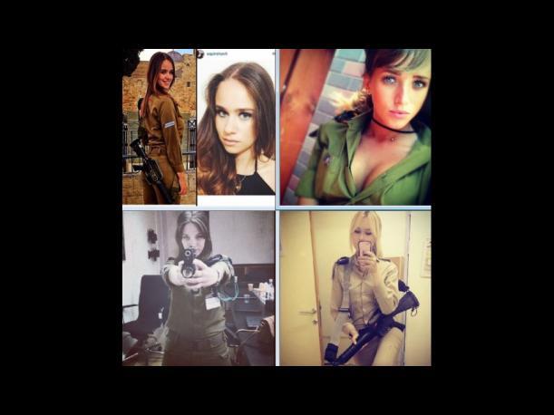 Mujeres soldados alborotan redes sociales con sus fotografías