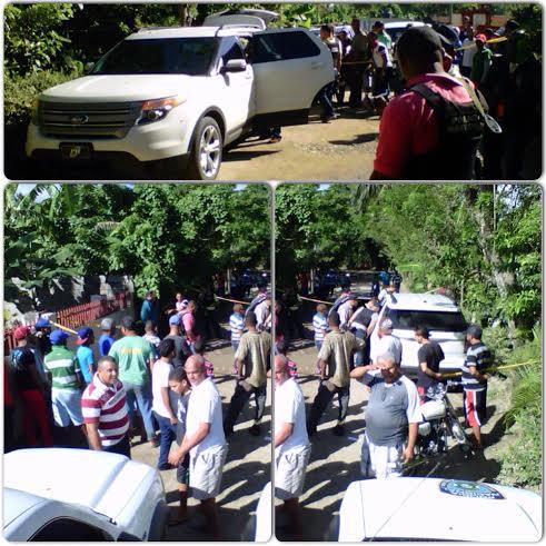 Encuentran en La Vega jeepeta baleada y sin ocupantes; la Policía investiga