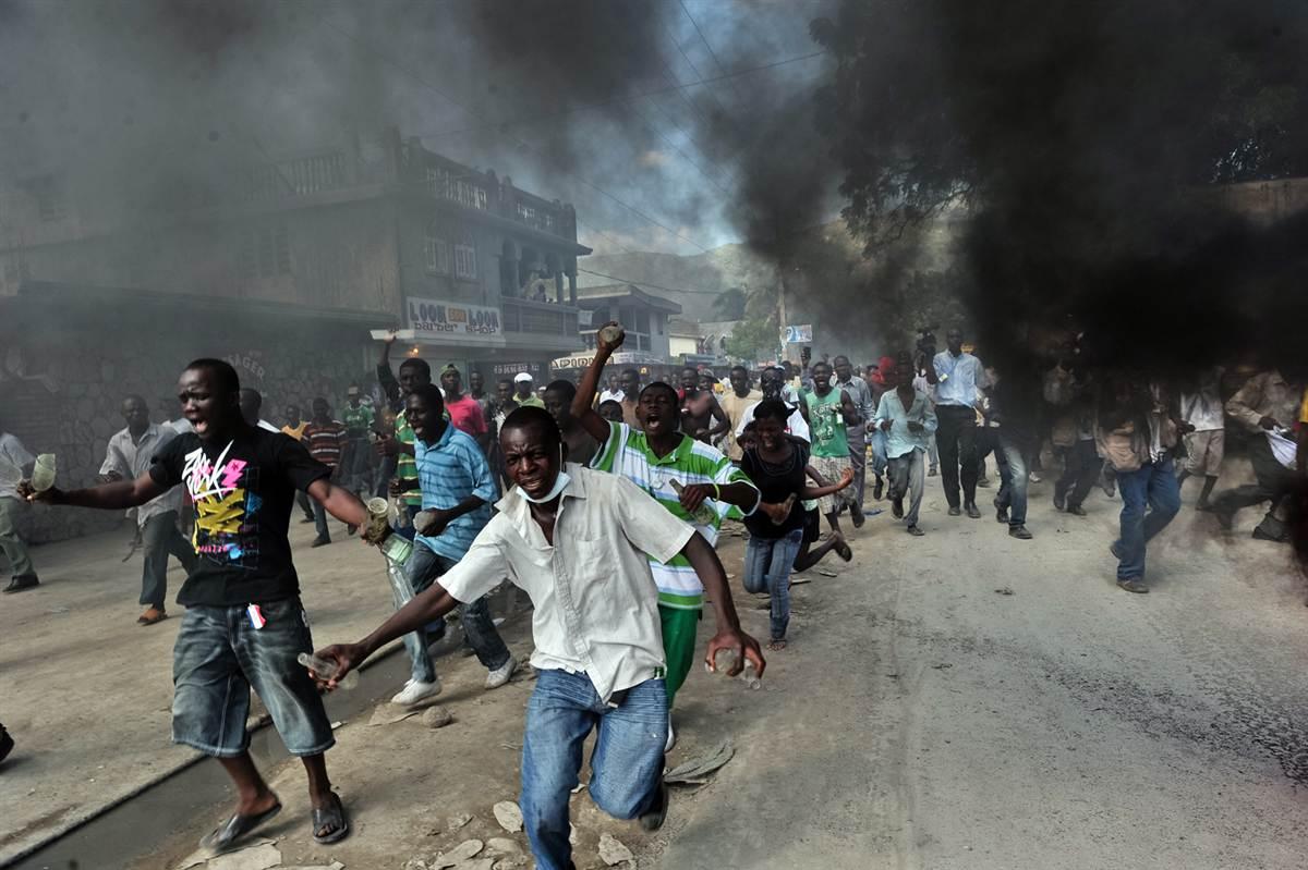 Oposición política en Haití llama a protestas en busca de la dimisión de Martelly