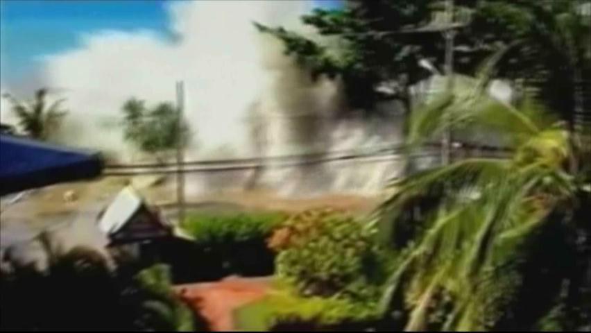 A diez años de la tragedia, todavía recuerdan tsunami que arrasó en Asia