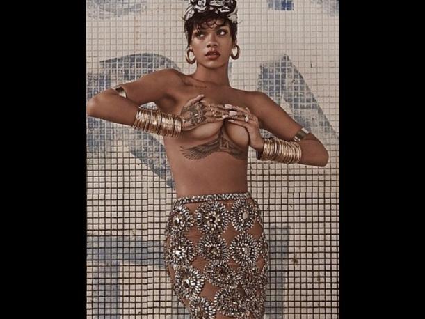 Guardaespaldas de Rihanna se fue a los puñetazos con fotógrafos en Río de Janeiro
