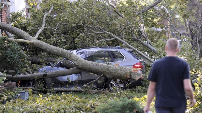 El peor temporal en cinco años causa estragos en California (EE.UU.)