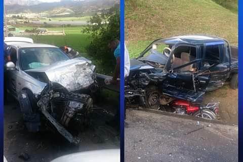 Nueve personas heridas fue el resultado de un accidente en Constanza