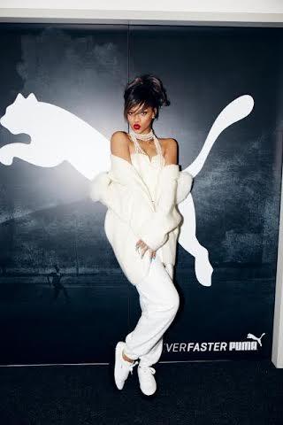 Rihanna se asocia con Puma; es nombrada embajadora global de la marca
