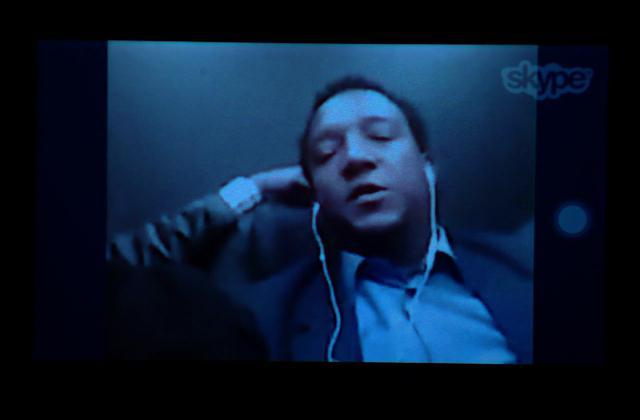 Pedro Martínez habla para Noticias SIN vía Skype