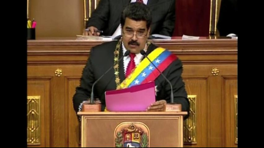 Maduro propone reformar plan de Gobierno de Chávez hasta el 2030