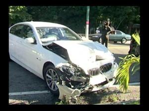 Directora hospital Enriquillo sufre accidente