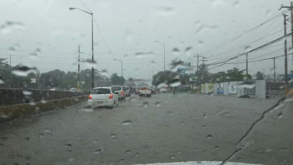 Meteorología pronostica lluvias en varios puntos del país