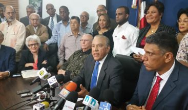 PRM rechaza proyecto de ley de partidos aprobado ayer