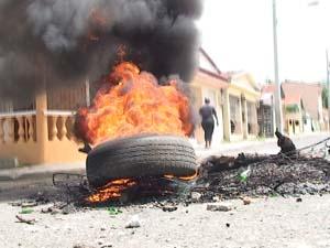 Protestan en municipio de San Juan por reivindicaciones sociales