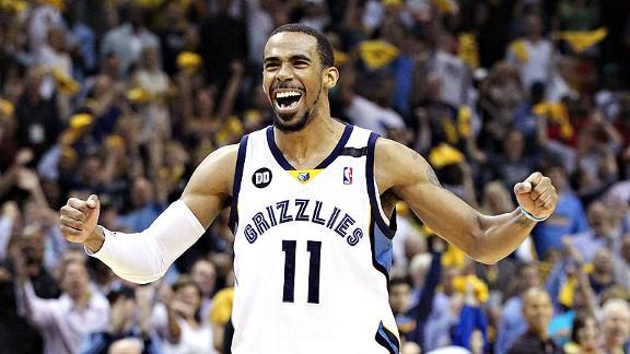 Conley dio triunfo a Grizzlies y amargó entrega de premio MVP a Curry