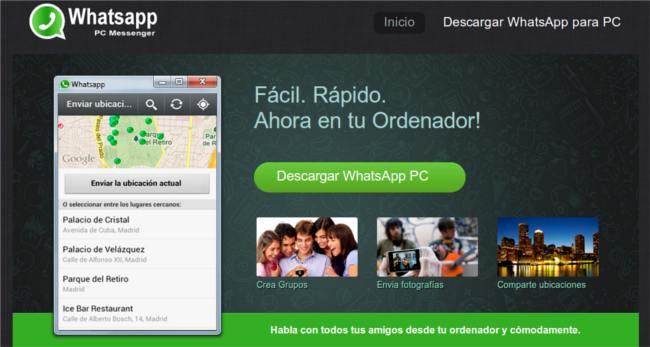 Descargar whatsapp pc windows 7