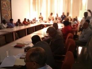 Hoy continúa reunión Comité Nacional de Salarios