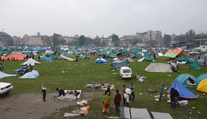 En menos de un mes, otro terremoto golpea a Nepal; van más de 36 muertos y mil heridos