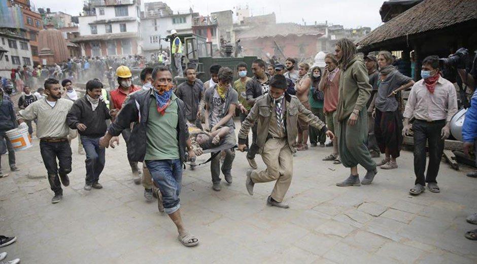 Sigue temblando la tierra en Nepal