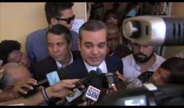 En el segundo boletín del PRM Luis Abinader gana con 71.23%