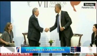 Reunión entre Obama y Castro duró una hora y 20 minutos y fue