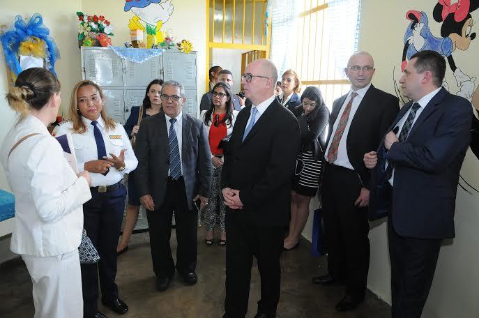 Procurador polaco valora efectividad del Modelo Penitenciario dominicano