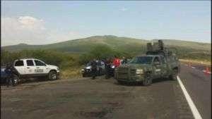 Comienza la identificación de 42 cuerpos caídos en enfrentamiento en México