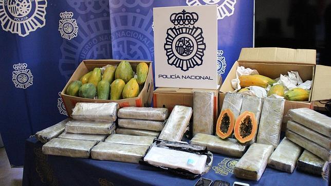 Incautan en España 32 kilos de cocaína entre lechozas procedentes de RD