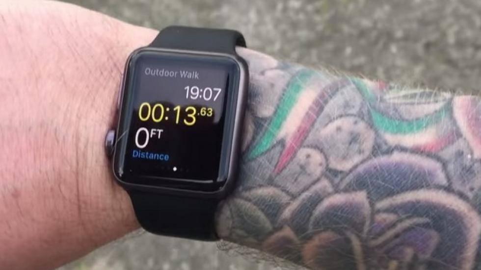 Al Apple Watch no le gusta tu tatuaje en la muñeca