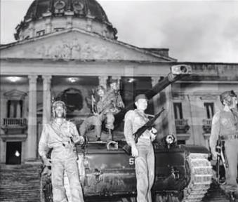 Asalto al Palacio Nacional el 19 de mayo de 1965