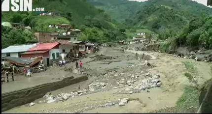 Colombia vive nueva tragedia natural con al menos 61 muertos por avalancha