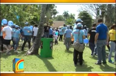 Realizan caminata con el objetivo de crear conciencia sobre autismo