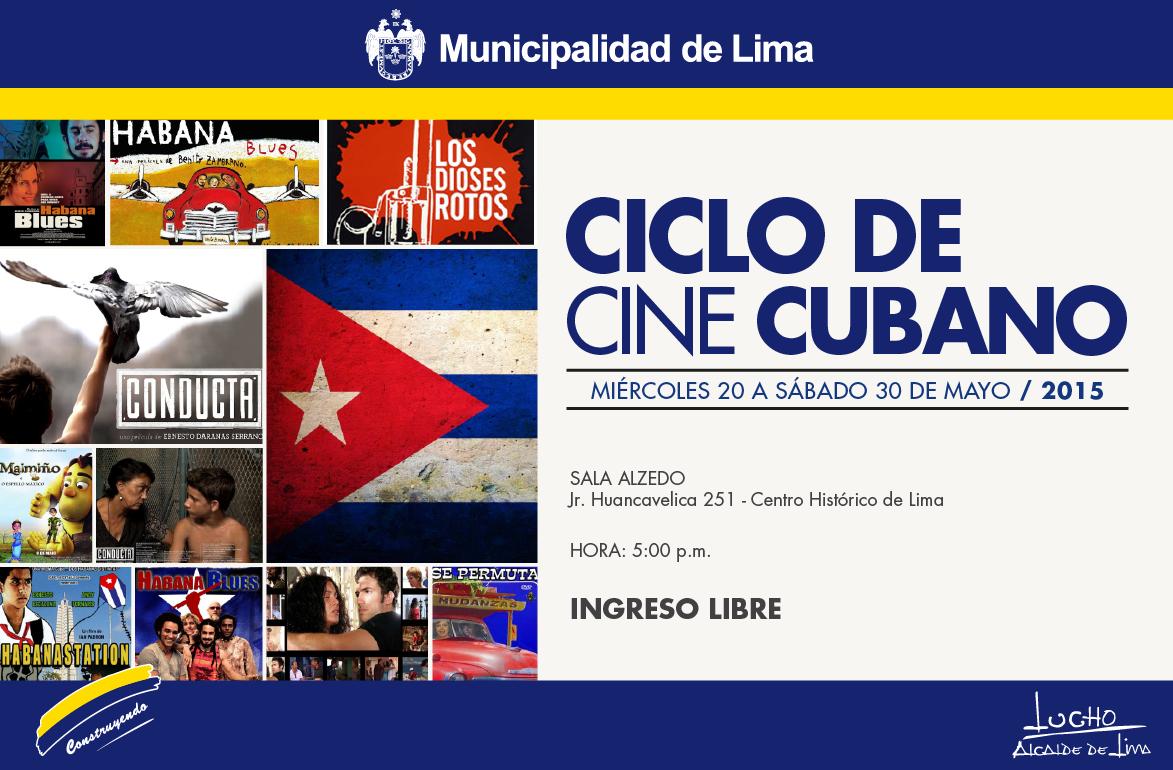 Doce películas cubanas se proyectarán en Lima como parte de un ciclo de cine