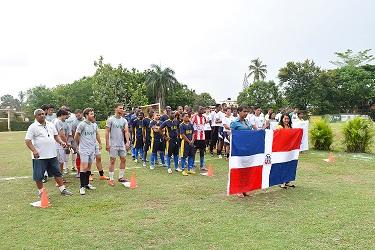 UNPHU inaugura Torneo de Juegos Universitarios de Fútbol