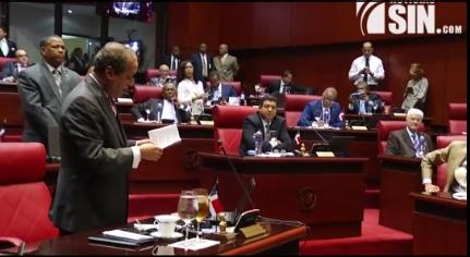 Se intensifican enfrentamientos entre senadores ante posible modificación constitucional