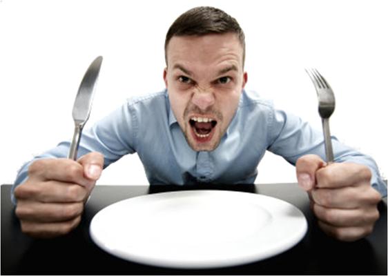 Cosas que no debes hacer cuando tienes hambre