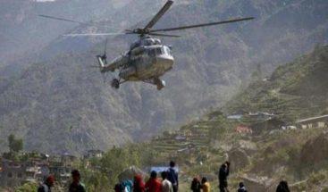 Desaparece en Nepal un helicóptero militar de EE.UU. durante labores de ayuda
