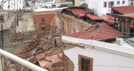 Inicia investigación para determinar que provocó desplome del Hotel Francés