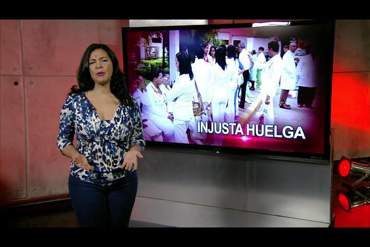 Patricia Solano: Injusta huelga