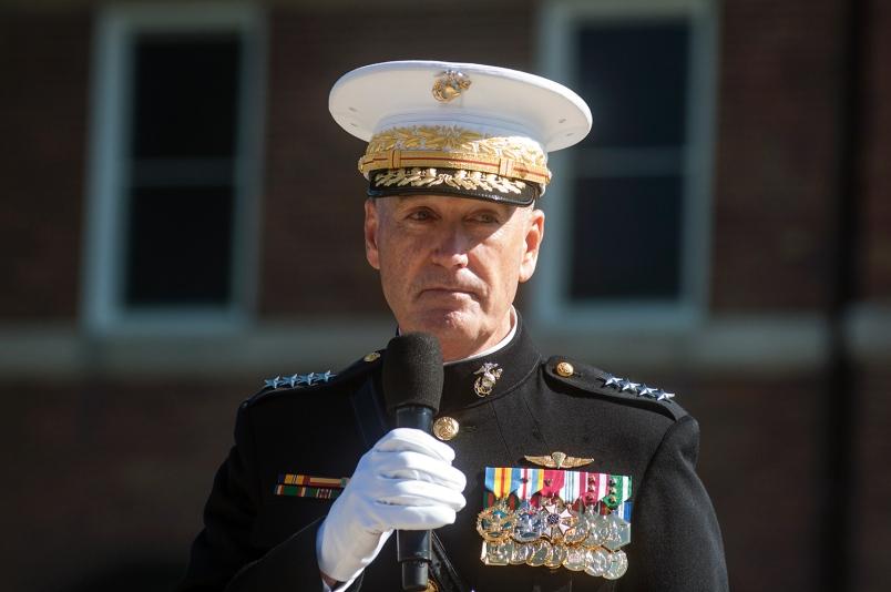 Obama elige a un general de marines para jefe del Estado Mayor