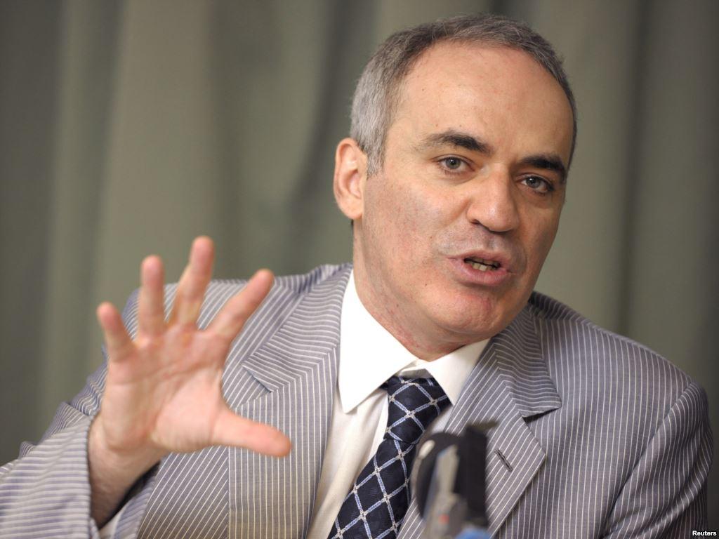 Kaspárov: Europa tiene que entender que no puede haber paz con Putin