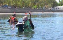 Realizan operativo de limpieza del Río de Gurabo