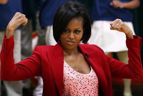 Un día en el gimnasio con la primera dama de los EEUU