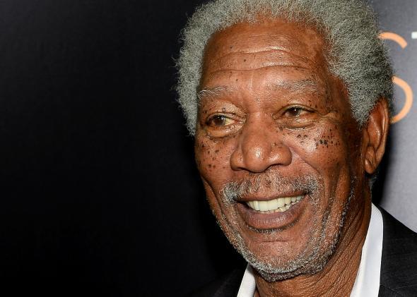Actor Morgan Freeman apuesta por la total legalización de la marihuana